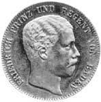 Taler Doppeltaler Friedrich I. 1852 und 1854  vorzüglich