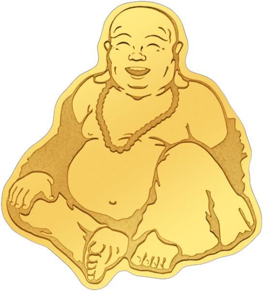 1 Dollar Palau Buddha 2017