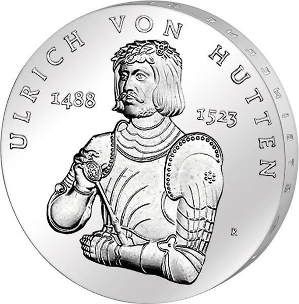 10 Mark DDR Ulrich von Hutten 1988