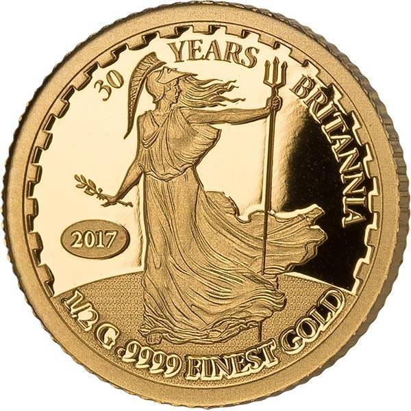 10 Dollars Salomonen 30 Jahre Britannia 2017