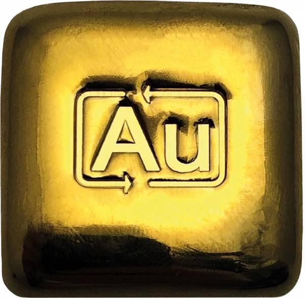 50 Gramm Goldbarren Goldknuffel