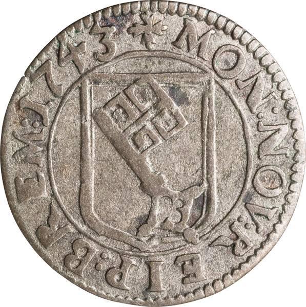 1 Groten Freie und Hansestadt Bremen 1743