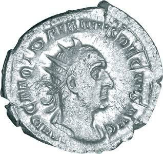 Trajanus Decius Antoninian Antike/Rom 249-251 n.Chr. ss-vz