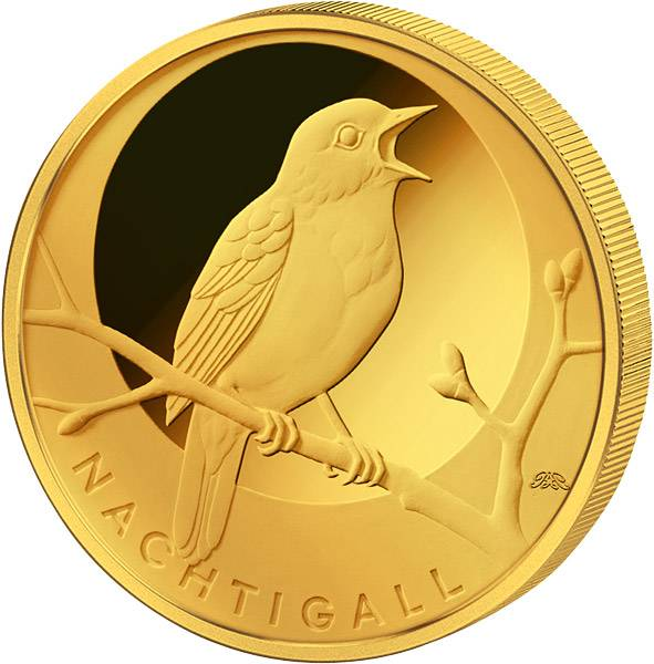 20 Euro BRD Heimische Vögel Nachtigall 2016