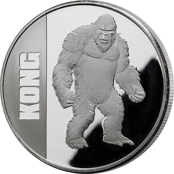 1 Unze Silber Niue King Kong 2021