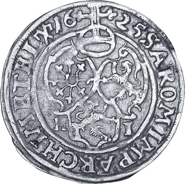 1 Groschen Sachsen Kurfürst Johann Georg I. 1624-1635 Sehr schön