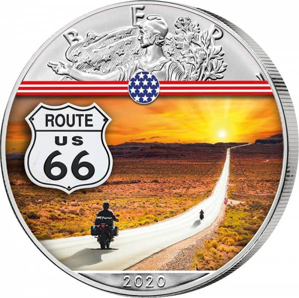 1 Dollar USA Route 66 2020
