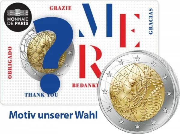 2 Euro Frankreich Medizinische Forschung Blister 2020
