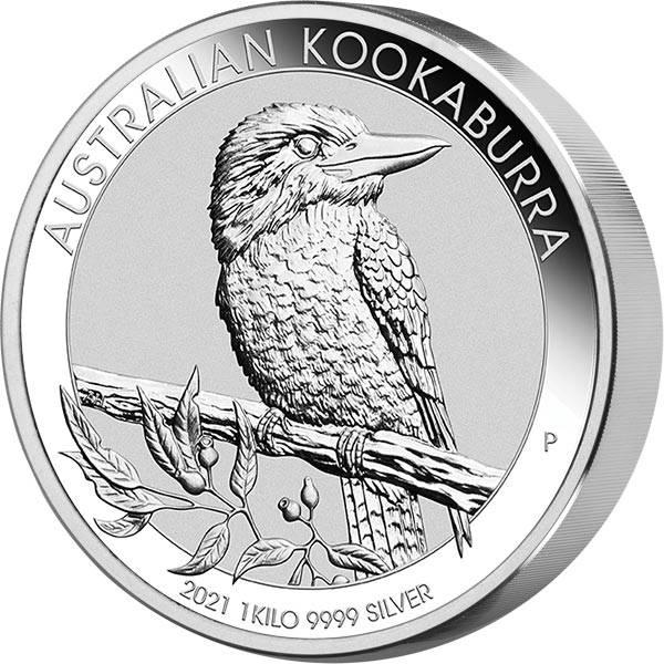 1 Kilo Silber Australien Kookaburra 2021