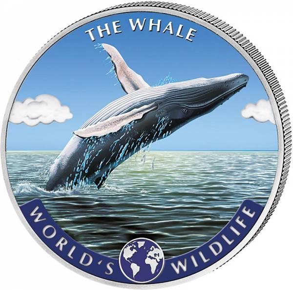 20 Francs Kongo World´s Wildlife Wal 2020