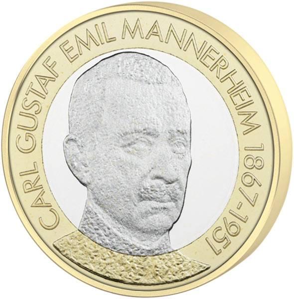 5 Euro Finnland Carl Mannerheim 2017