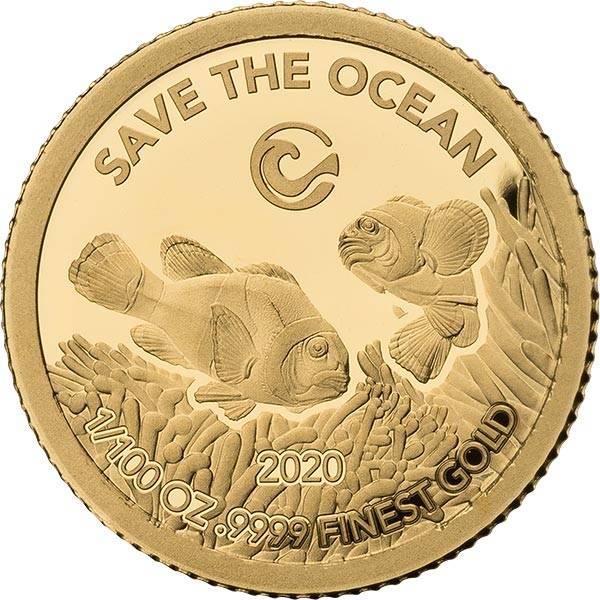 20 Shillings Somalia Anemonenfisch 2020