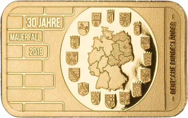 Goldbarren Deutsche Bundesländer
