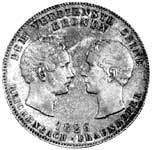 Geschichtstaler Ludwig I. Reichenbach-Frauenhofer 1826 vorzüglich