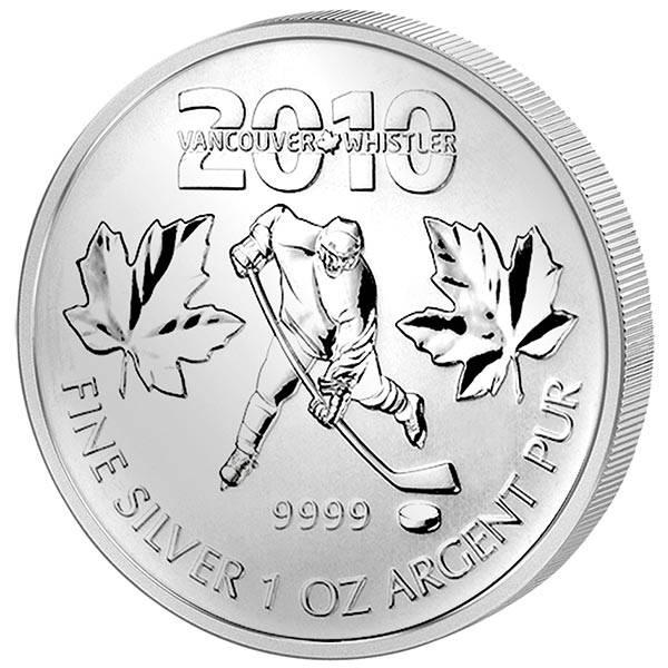 5 Dollars Kanada Maple Leaf Kanada Olympiade Vancouver 2010