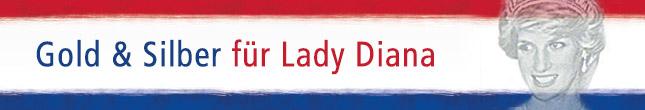 Gold & Silber für Lady Diana
