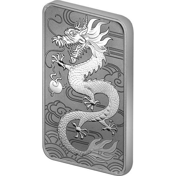 1 Dollar Australien Chinesischer Drache 2018