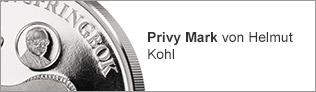 Privy Mark von Helmut Kohl