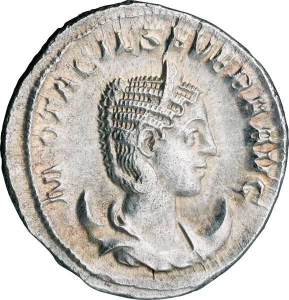 Antoninian Römisches Kaiserreich Kaiserin Otacilla Severa 249 n. Chr.