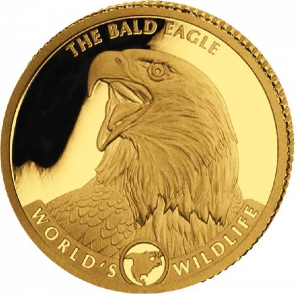 10 Francs Kongo Weißkopfseeadler 2021