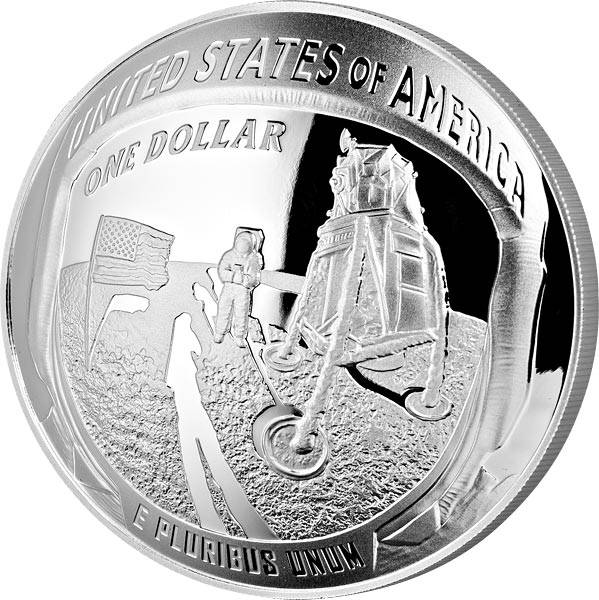 1 Dollar USA 50 Jahre Mondlandung Apollo 11 2019