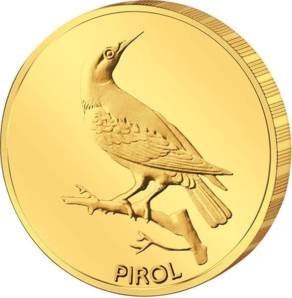 20 Euro BRD Heimische Vögel Pirol 2017