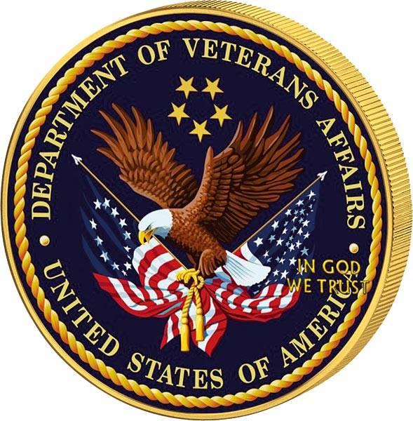 1 Dollar USA Eagle Kriegsveteranenministerium 2019