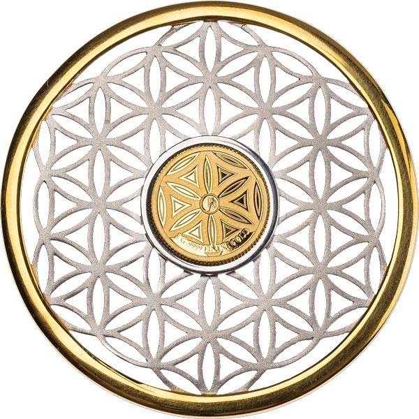 10 Dollars Barbados Symbols of Life Blume des Lebens 2020