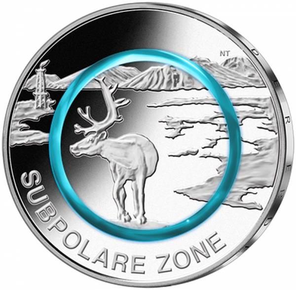 5 Euro BRD Subpolare Zone 2020