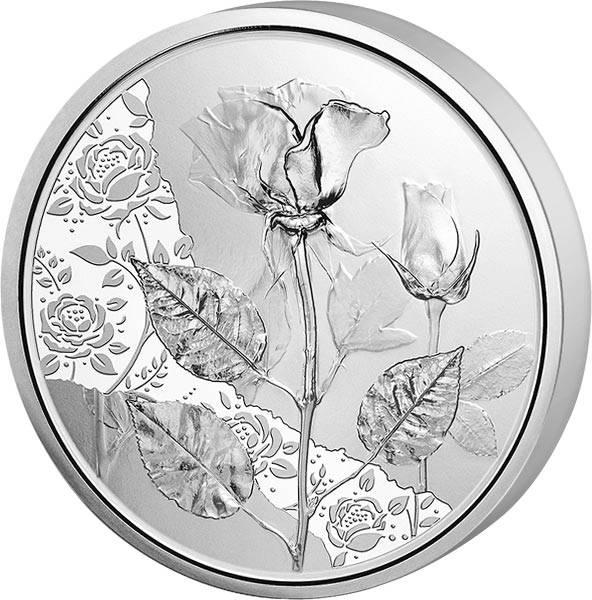 10 Euro Österreich Mit der Sprache der Blumen -  Die Rose 2021