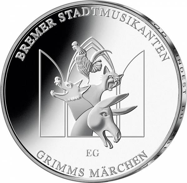 20 Euro BRD Bremer Stadtmusikanten 2017