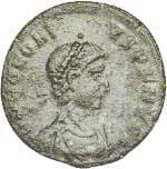 Mittel-Follis Kaiser Honorius 364-423 n.Chr. Schön