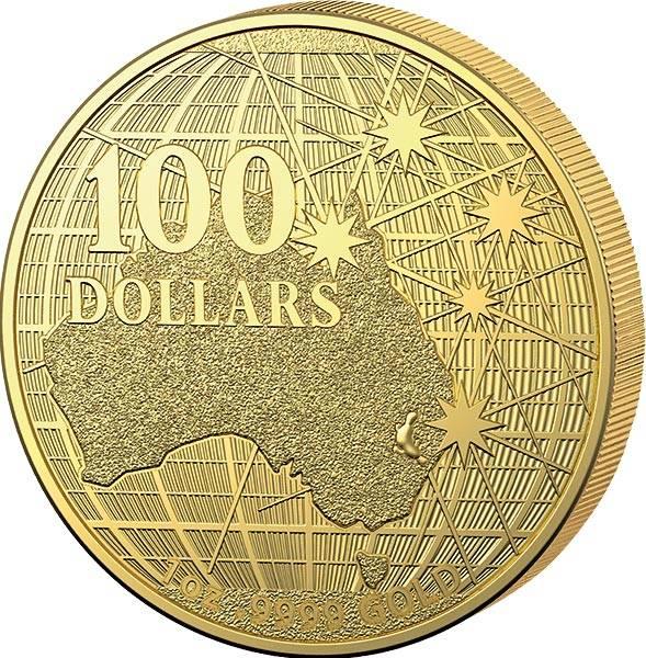 1 Unze Gold Australien Unter dem südlichen Himmel 2021