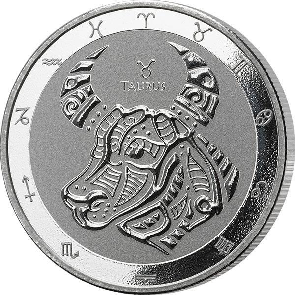 1 Unze Silber Tokelau Stier 2021