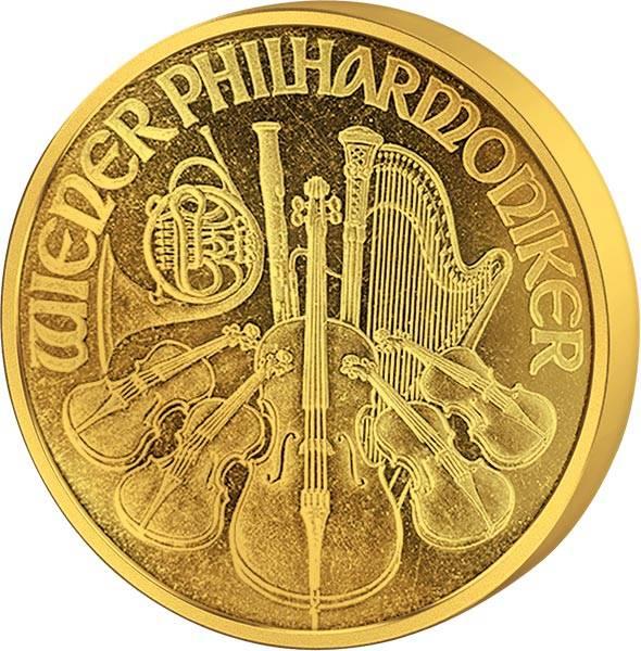 1 Unze Gold Österreich Philharmoniker 1993
