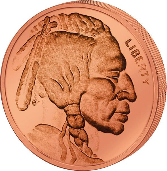 1 Unze Gedenkprägung Buffalo Indian Head