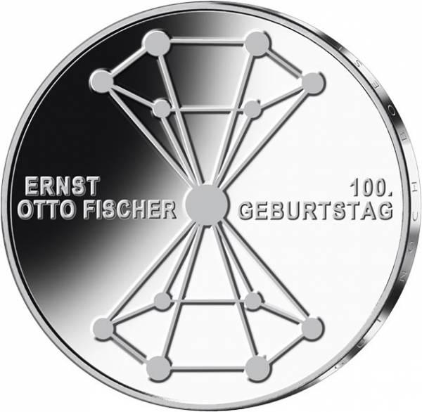 20 Euro BRD 100. Geburtstag von Ernst Otto Fischer 2018