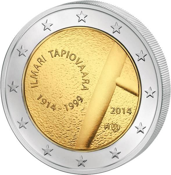 2 Euro Finnland Ilmari Tapiovaara 2014 prägefrisch