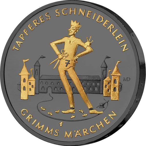 20 Euro BRDTapferes Schneiderlein 2019 Golden Enigma Edition