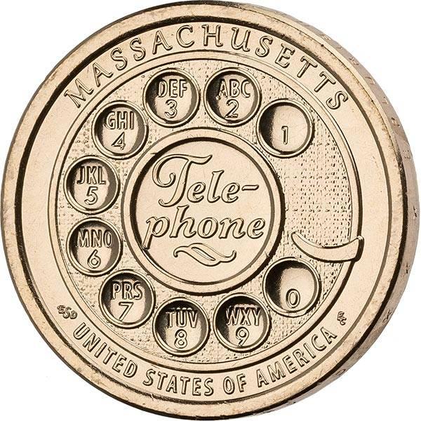 1 Dollar USA American Innovation - Telephone 2020