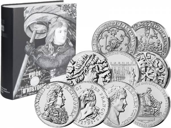 9 x 10 Euro Frankreich Historische Münz-Motive Teil 1 2019