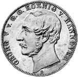 Taler Vereinstaler Ostfriesland 1865  vz-pfr