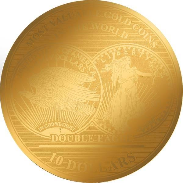 10 Dollars Salomonen Double Eagle 2019