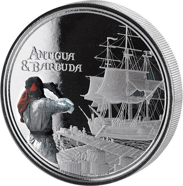 2 Dollars  Antigua und Barbuda Rum Runner 2019
