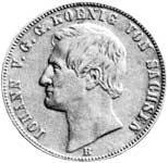 Taler Ausbeutevereinstaler Johann 1861 ss-vz
