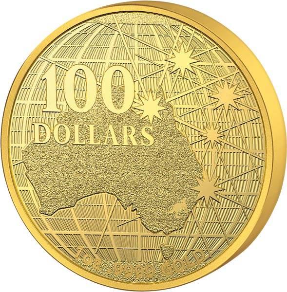 1 Unze Gold Australien Unter dem südlichen Himmel 2020