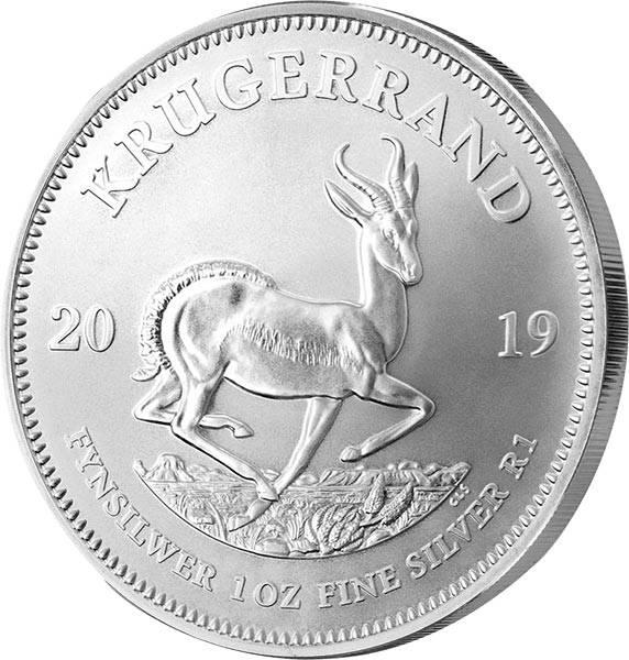 1 Unze Silber Südafrika Krügerrand 2019