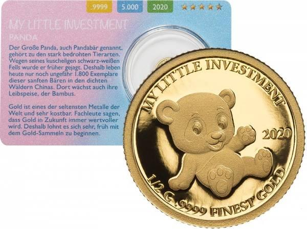 10 Dollars Salomonen My Little Investment Panda 2020