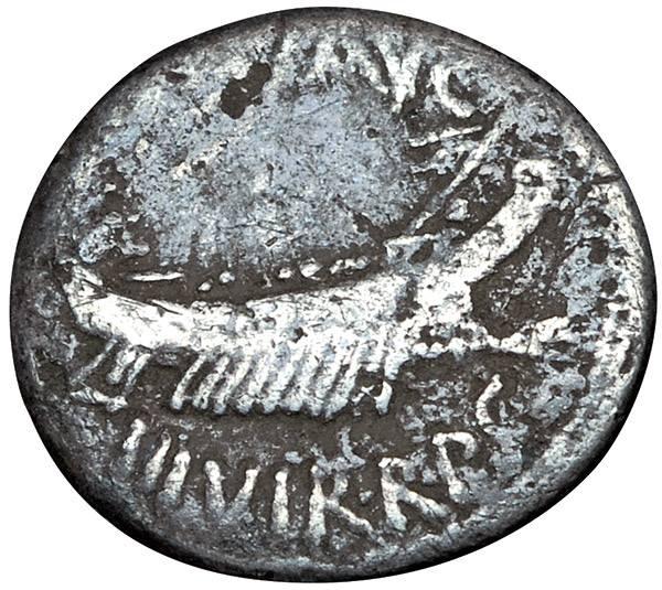 Denar Römische Republik Konsul Marcus Antonius