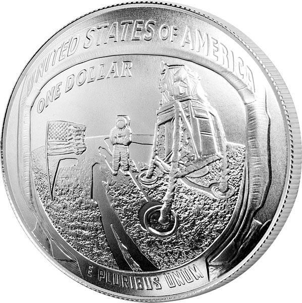 1 Dollar USA 50 Jahre Mondlandung Apollo 11 2019